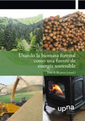 portada del libro Usando la biomasa forestal como una fuente de energía sostenible